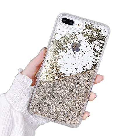 Cover iPhone 10 Trasparente Custodia iPhone X Brillantini Cover
