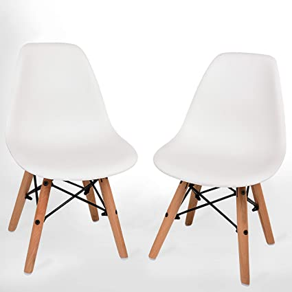 Awesome Urbanmod Kids Modern Style Chairs Set Of 2 Abs Easy Clean Chairs Highest Strength Capacity 330Lbs Renewed Gmtry Best Dining Table And Chair Ideas Images Gmtryco