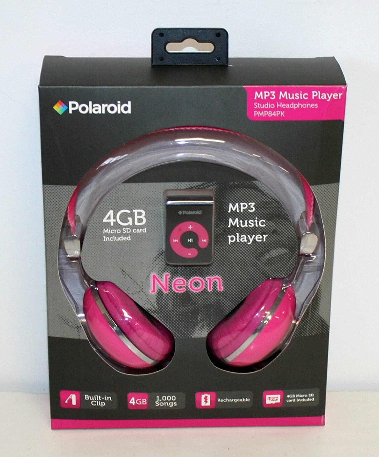 amazon com polaroid mp3 music player and headphones pink home rh amazon com iPhone Instruction Manual iPod Shuffle Instruction Manual