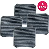 Think Crucial Molekule (TM) Replacement Pre-Filter, Compatible with Gray Version 2.1 Molekule (TM) Air Cleaner Purifier Machine, Bulk Pre Filters (4 Pack)