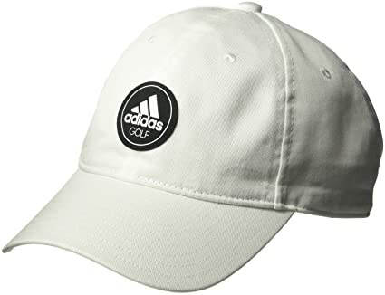 Amazon.com : adidas Golf Mens Cotton Relax Cap, Black, One Size : Sports & Outdoors