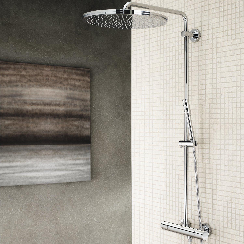 GROHE 27174001 Rain Shower 400 Shower System Thermostat - - Amazon.com