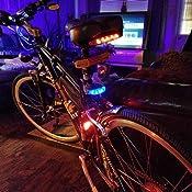Faro front headlight Retro 3 LED Black Bike Bicycle Cruiser City Bike holland
