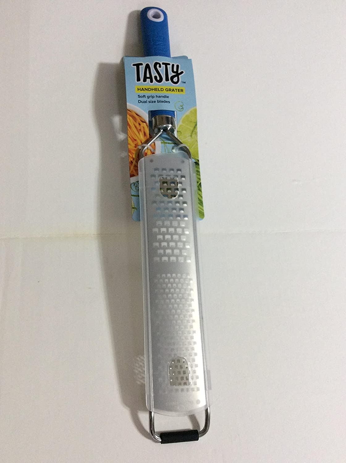 Royal Blue Tasty Handheld Graterwith Soft Grip Handle