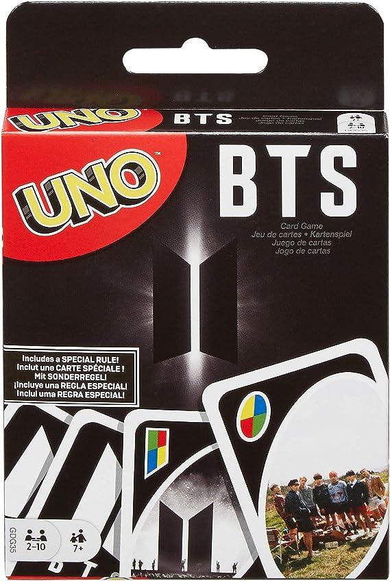 Mattel - Games UNO BTS, juego de cartas del grupo de música coreano (GDG35): Amazon.es: Juguetes y juegos