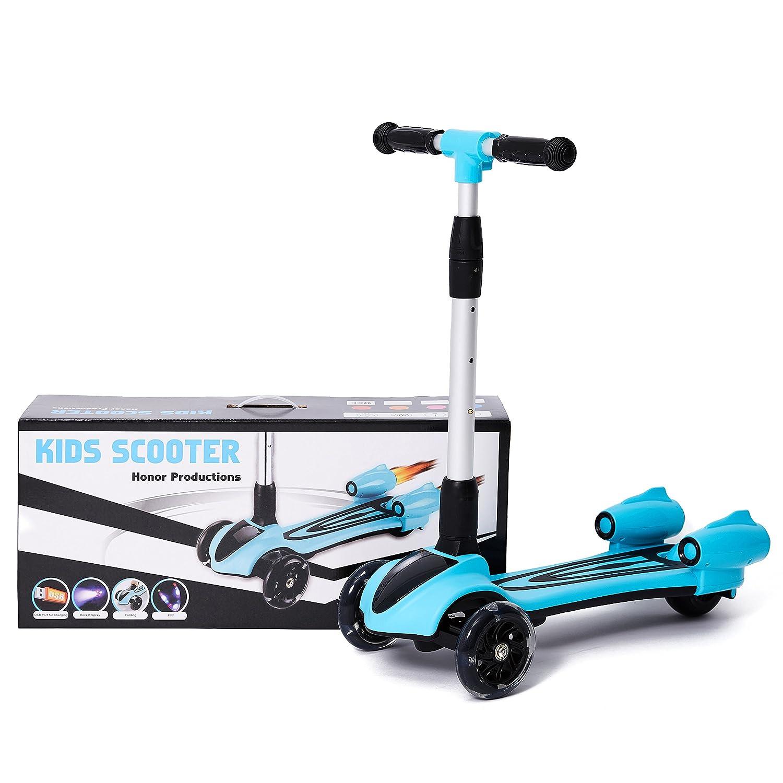 Amazon.com: MammyGol Kick Scooter para niños 3 ruedas ...
