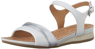 Damen Geox Damen D Vega C Peeptoe Sandalen Schuhe Schuhe