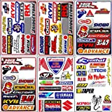 Graphic Racing Sticker Decal Motocross ATV Dirt 6 Sheets