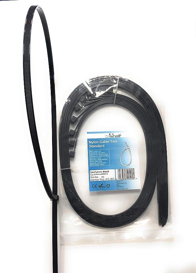 Kabelbinder Strapazierfähig Extra Lang 9 X 1 000 Mm Schwarz Baumarkt