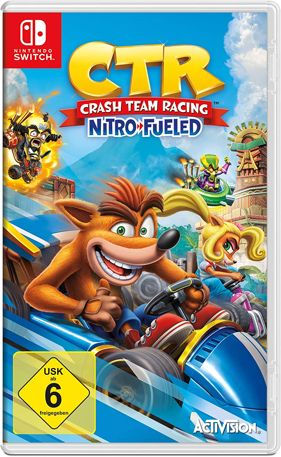 Crash Team Racing Nitro-Fueled - [Nintendo Switch] [Importacion Alemania]: Amazon.es: Videojuegos
