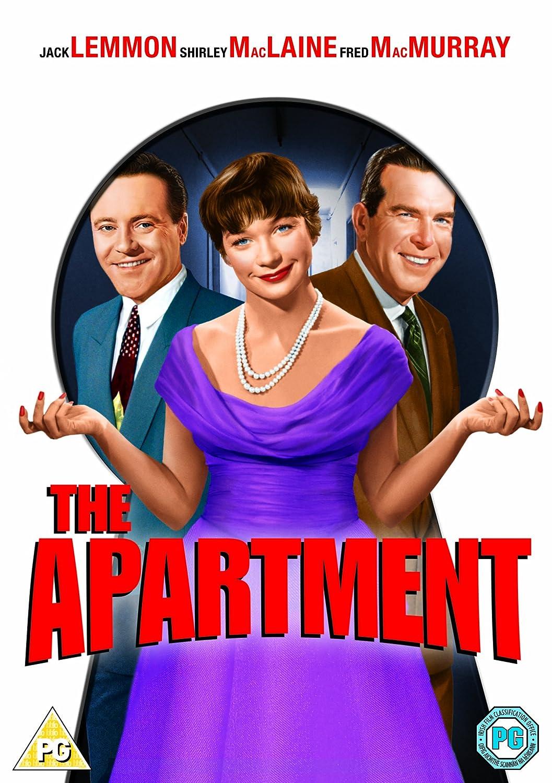 Amazon.com: The Apartment: Jack Lemmon, Shirley MacLaine, Fred MacMurray,  Ray Walston, Jack Kruschen, David Lewis, Hope Holiday, Joan Shawlee, Naomi  Stevens ...