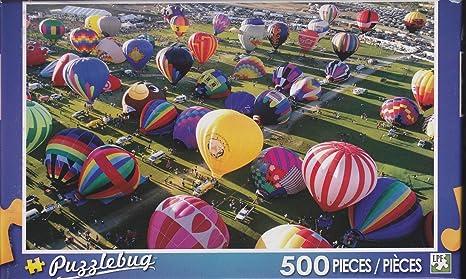 NEW Puzzlebug 500 Piece Puzzle ~International Ballooning Festival