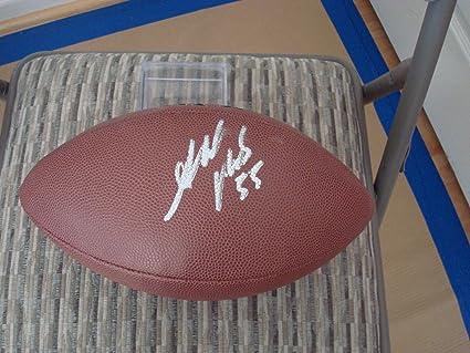 2566ffae Ahmad Brooks Autographed Football - Size Go - PSA/DNA Certified ...