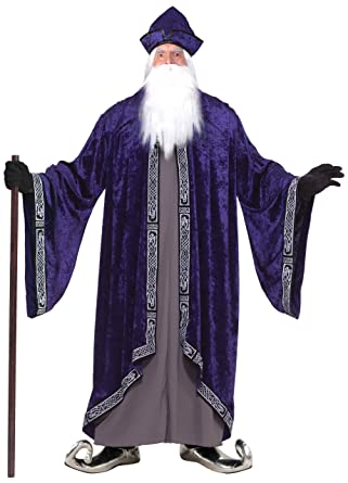 Forum Novelties Men's Grand Wizard Deluxe Designer Adult Plus Size Costume men