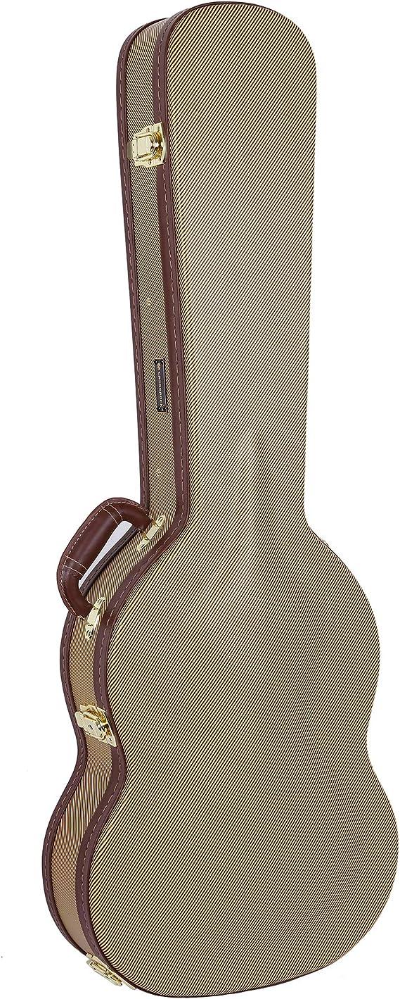 Crossrock Deluxe /Étui rigide en bois pour guitare /électrique SG Noir