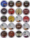 20 Count K-Cup 2.0 Sampler - Ultra Versatile, Premium Coffee Variety Pack for Keurig K-Cup Brewers and Keurig 2.0 Brewers. Works On Any K-Cup Brewer.