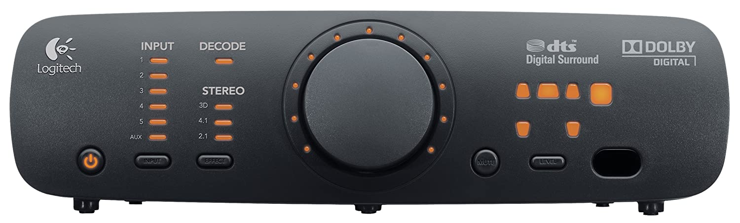 Logitech Z906 Surround Sound Speakers - (RMS) 500-W Subwoofer: 165-W, 3D Stereo