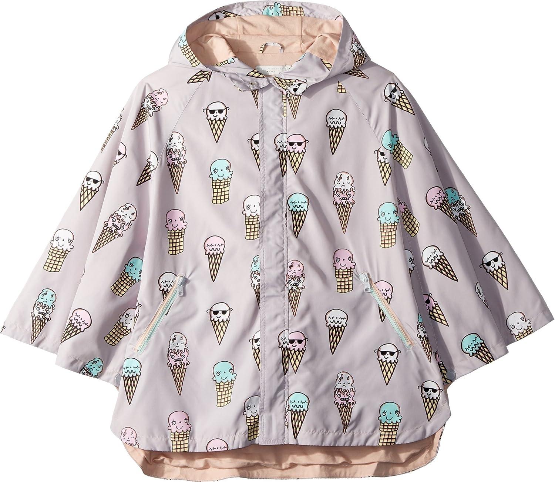 Toddler//Little Kids//Big Kids Stella McCartney Kids Womens Froggie Ice Cream Print Rain Cape