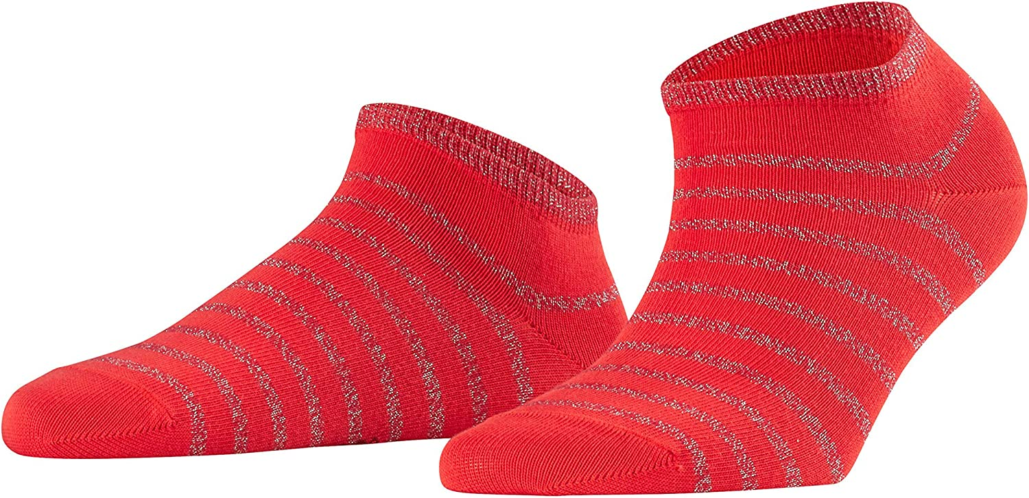 FALKE Nautical Shimmer Socquettes Femme NA Rouge Taille fabricant: 39-42 Lipstick 8000 39//42