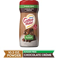 COFFEE MATE Sugar Free Chocolate Crème Powder Coffee Creamer 10.2 Oz. Canister | Non-dairy, Lactose Free, Gluten Free…