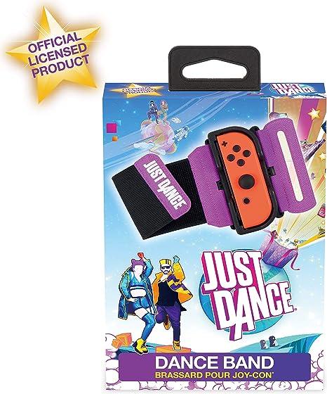 Subsonic Just Dance 2020 - Dance Band Brazalete de control, Correa elástica ajustable con espacio para Joy-Con izquierdo o derecho, Accesorio con licencia oficial Just Dance (Nintendo Switch): Amazon.es: Videojuegos