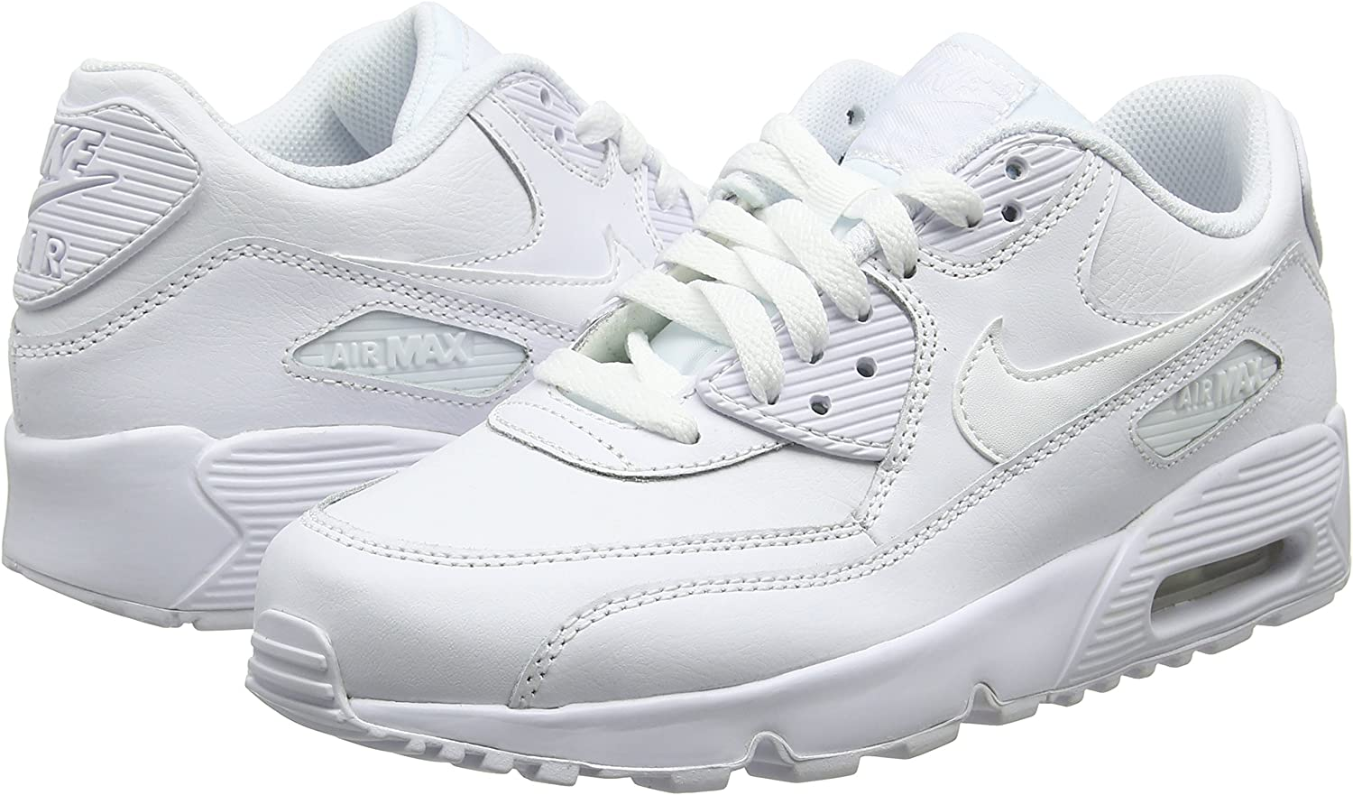 Nike Air Max 90 LTR GS Chaussures de Running Entrainement Homme