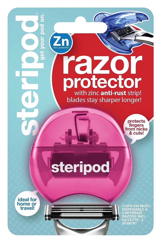 Steripod Clip-On Razor Protector (Pink) Bonfit America Inc