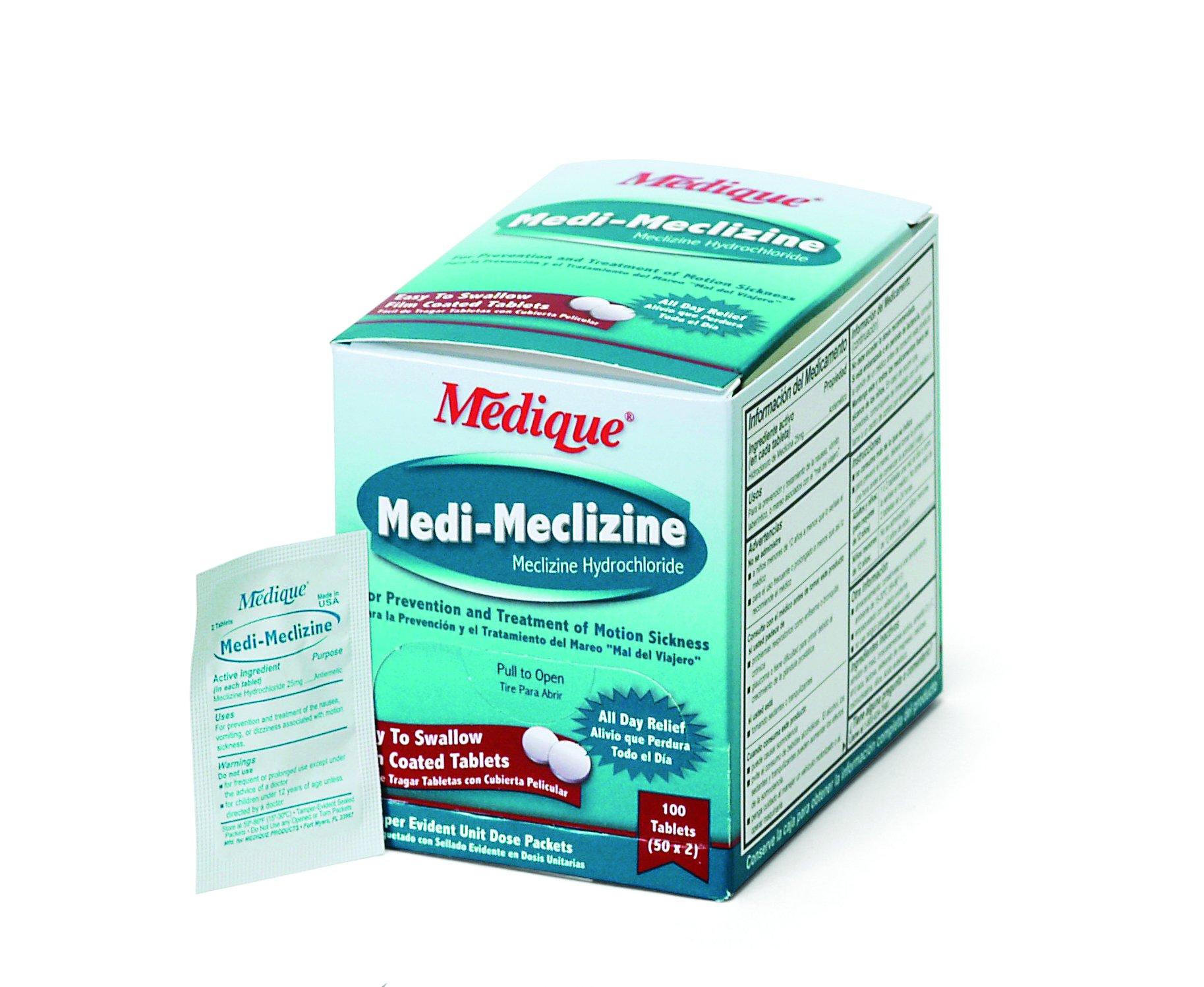 Medique 47933 Medi-Meclizine, 100 Tablets product image
