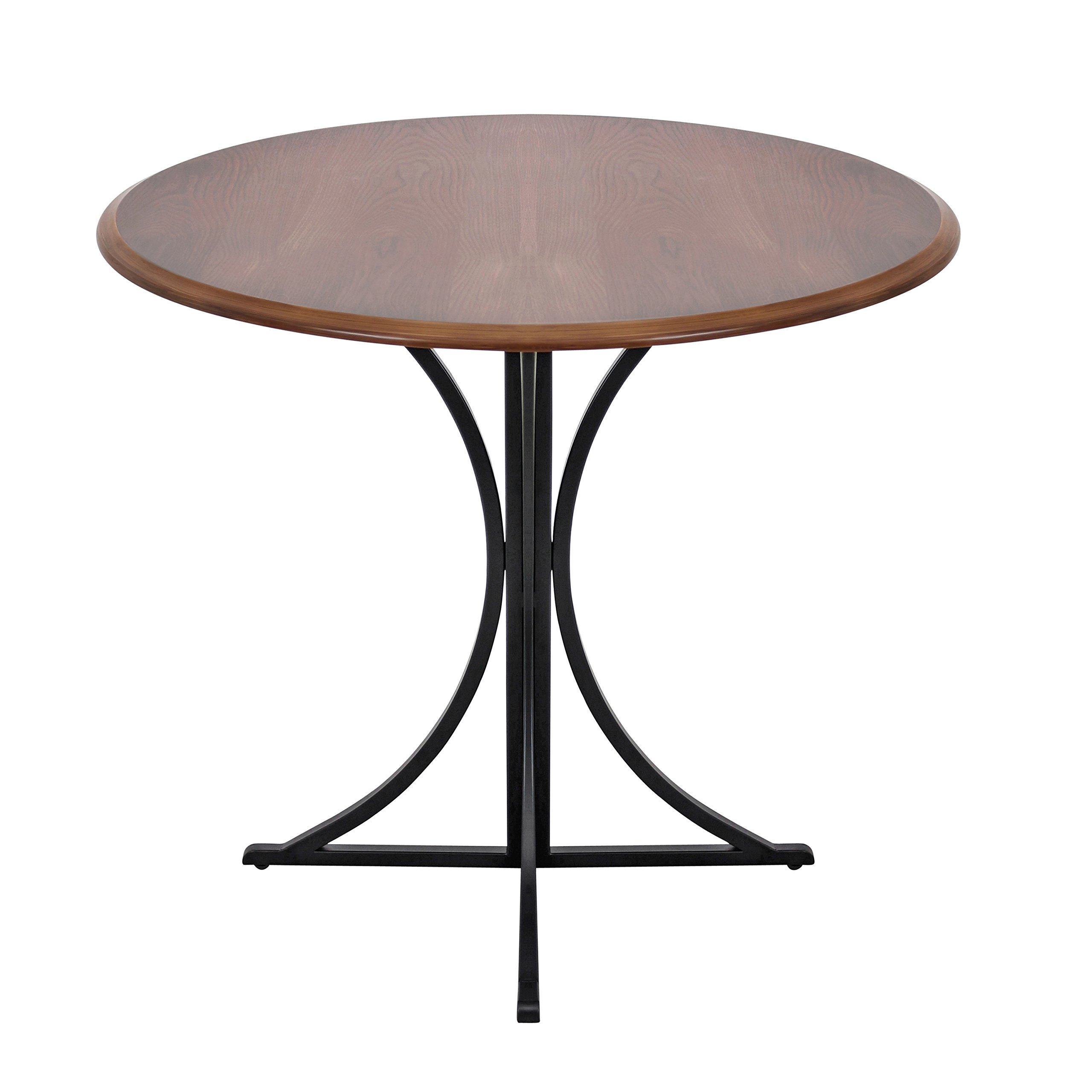 WOYBR DT WL+BK Wood, Metal Boro Dining Table by WOYBR (Image #2)