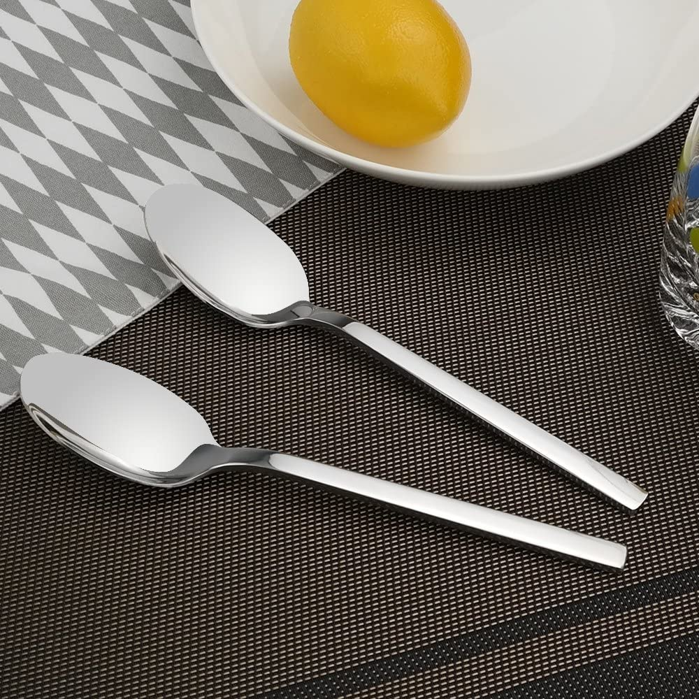 7.75 Inches Doryh Stainless Steel Dinner Spoons Set of 12