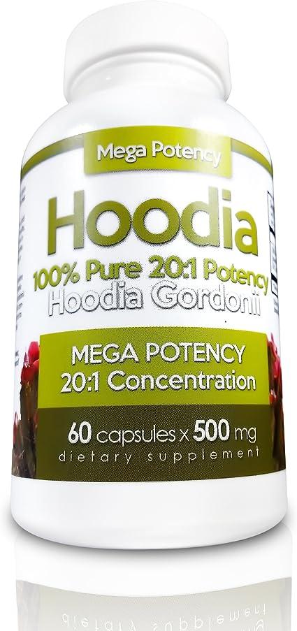 Amazon Com Hoodia Gordonii Natural Appetite Suppressant Pills