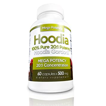 Hoodia Gordonii Natural Appetite Suppressant Pills 20 1 Potency Is 20x Stronger Than Raw Hoodia