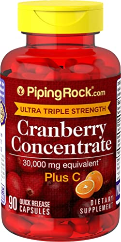 Ultra Triple Strength Cranberry Plus C 30,000 mg 90 Capsules