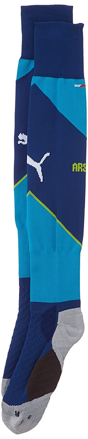 2014-2015 Arsenal Third Cup Football Socks Puma 746552 04