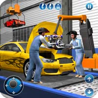 Sports Car Maker Factory 2018: Car Mechanic Simulator & Auto Builder Games
