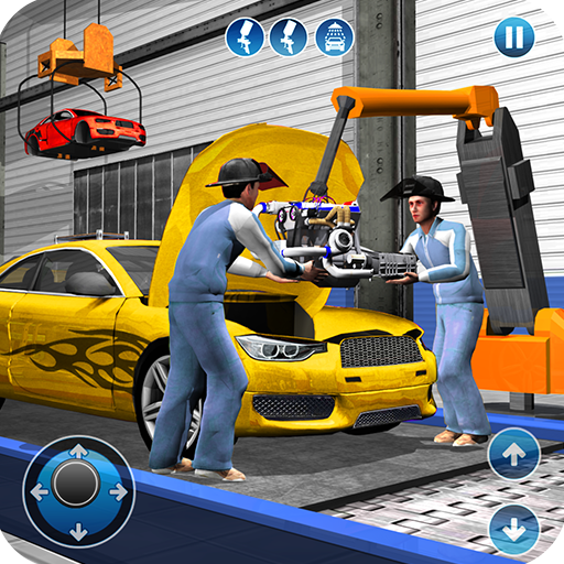 Sports Car Maker Factory 2018: Car Mechanic Simulator & Auto Builder - Driving Cars Auto
