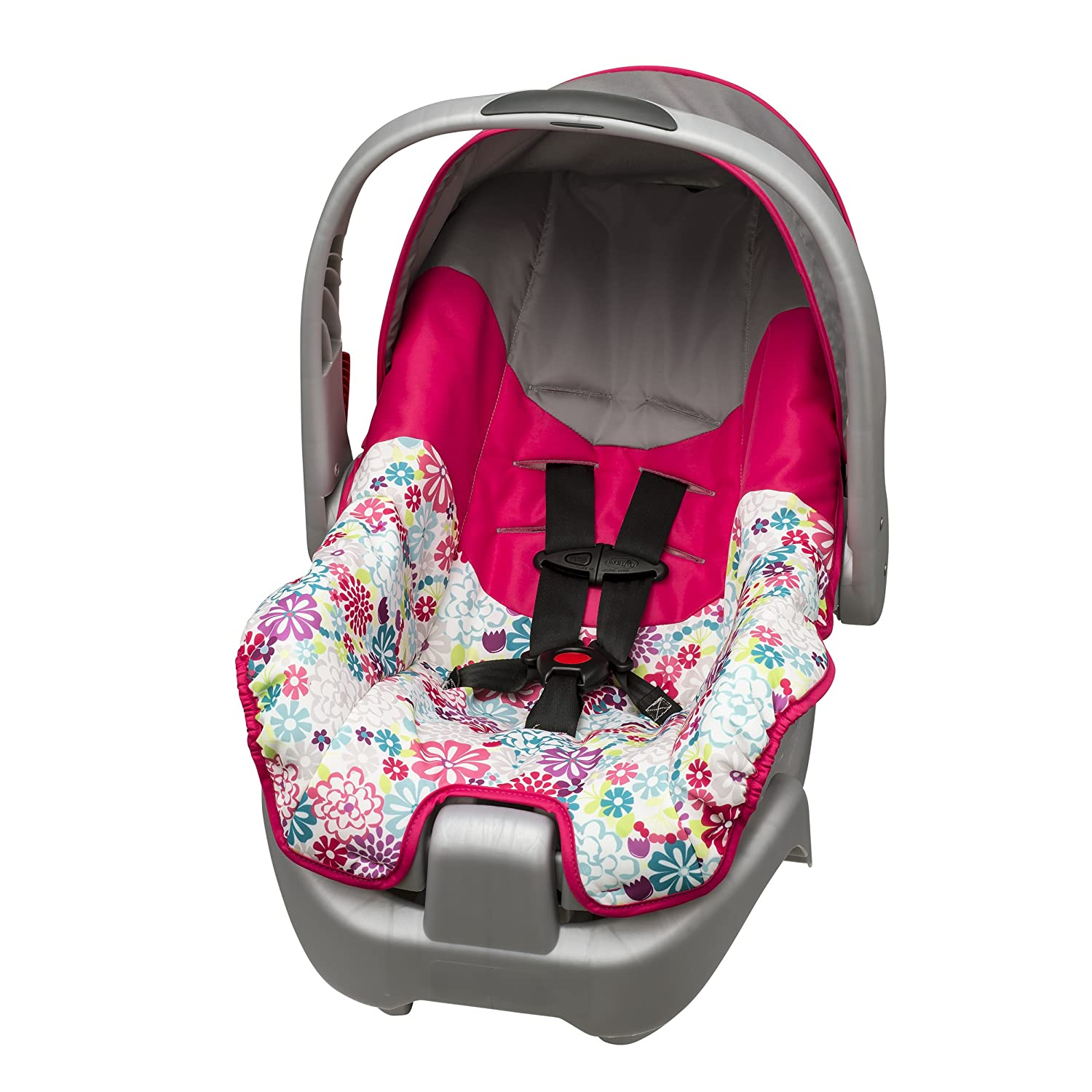 Evenflo Nurture Infant Car Seat, Pink Bloom 36212070
