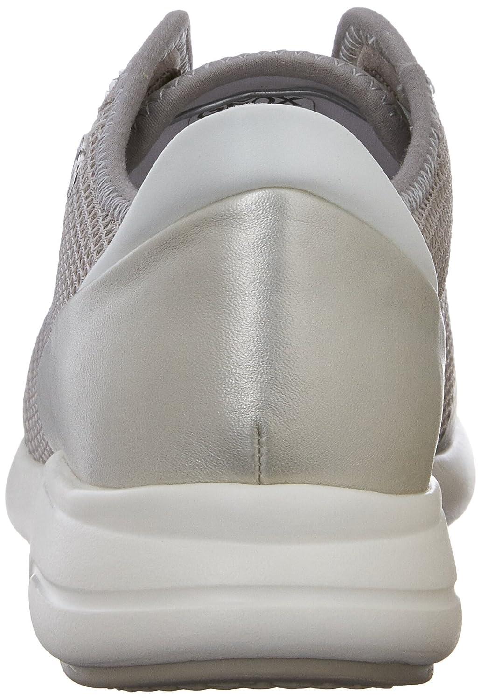 Geox D Ophira Grau E Damen Sneaker Grau Ophira (Lt Grau/Silverc1355) c1f1eb
