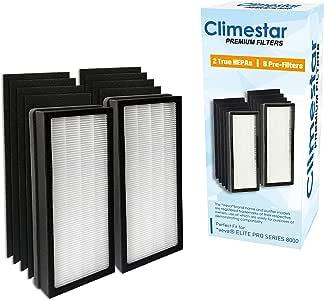 Climestar - Filtro de Repuesto Compatible para purificador de Aire ...