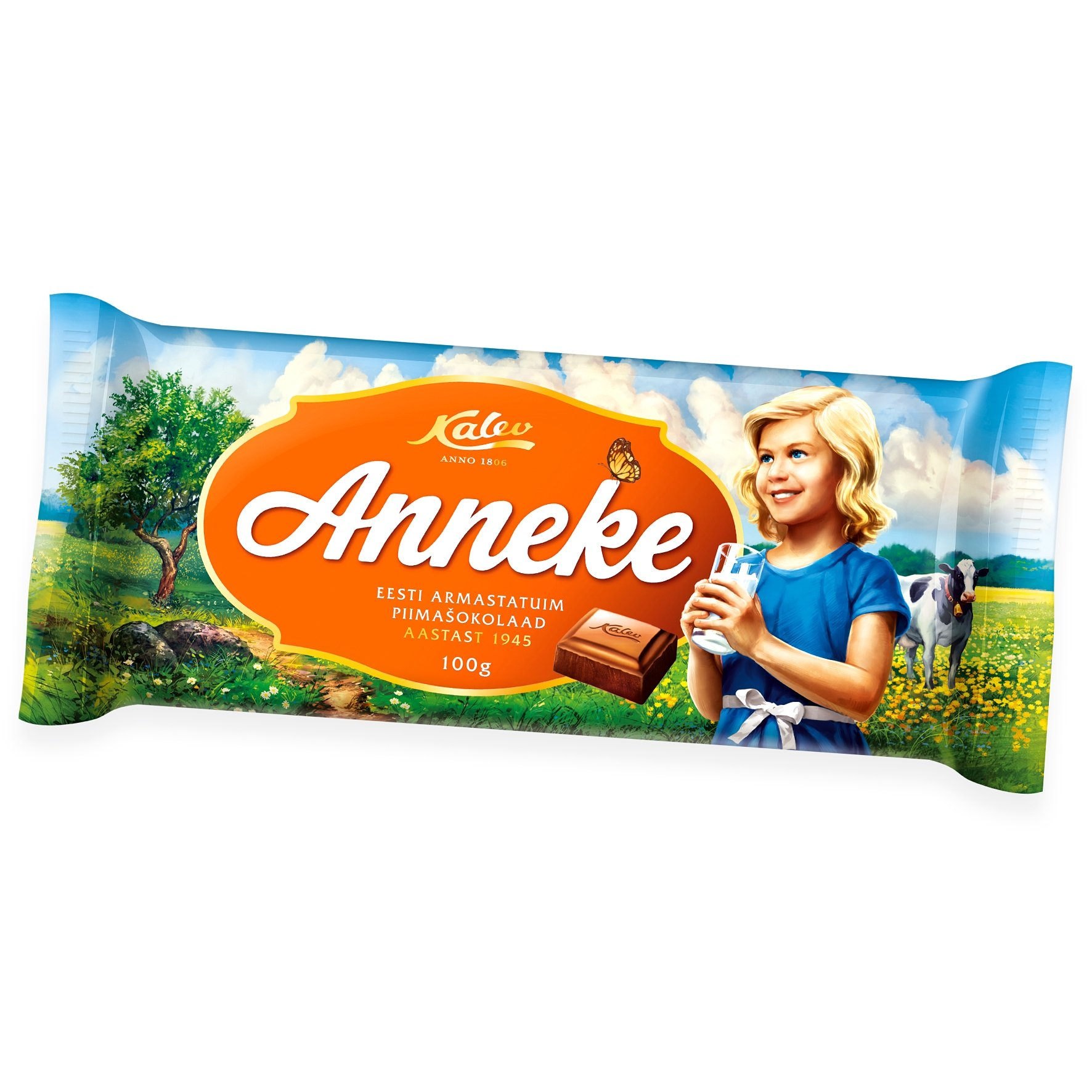 Kalev Anneke milk chocolate 100g