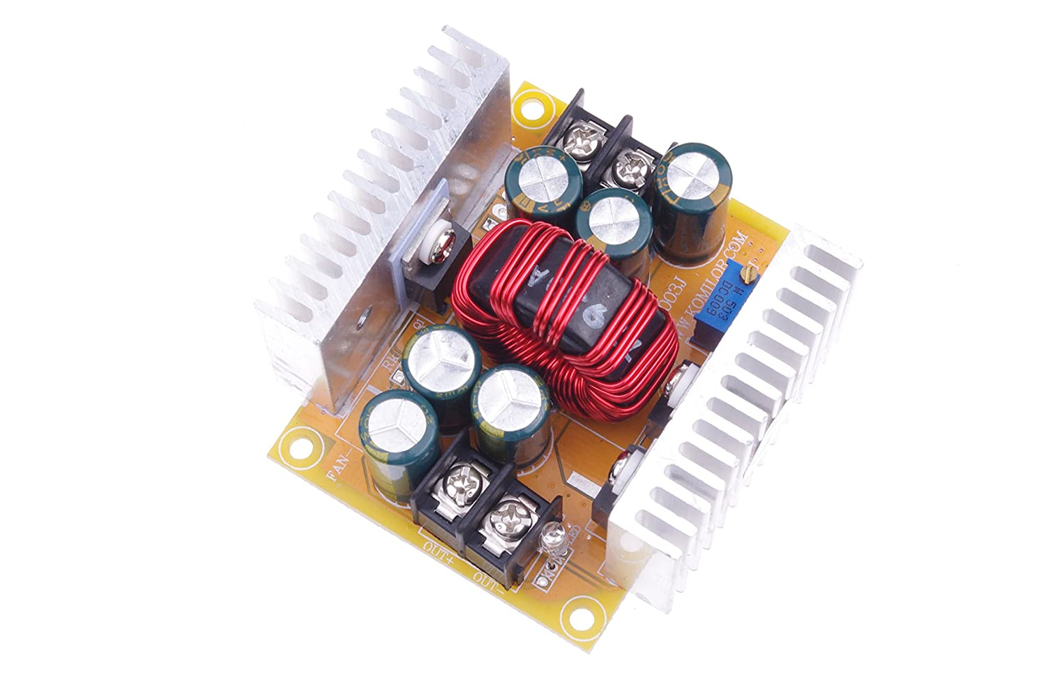 Smakn Dc High Power 20a Buck Adjustable Step Down Supercap Charger Plus A 5v At 4a Converter From 55v To 30v 10 40v 08 13v 24v 12v 250w Home Audio Theater