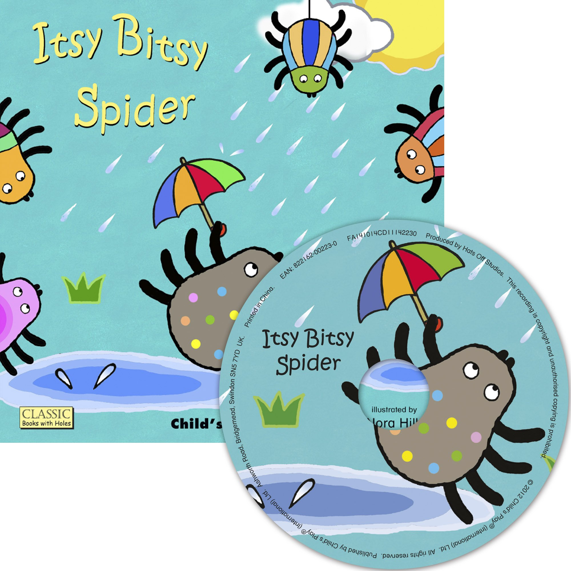 Read Online Itsy Bitsy Spider (Classic Books with Holes 8x8 with CD) PDF
