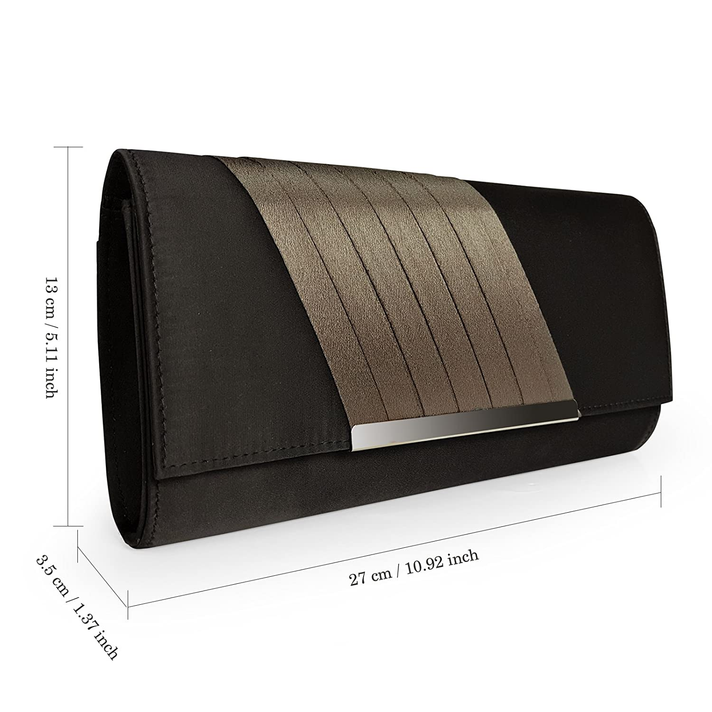 eac5eedad96 Becko Women Wallet and Purse Long Clutch Bag Handbag Card Holder:  Amazon.in: Clothing & Accessories