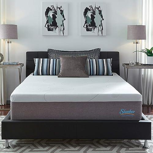 Slumber Solutions 14-inch Gel Memory Foam Choose Your Comfort Mattre