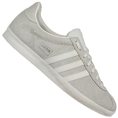 ADIDAS ORIGINALS GAZELLE Og Damen Sneaker S78878 Wild Leder Schuhe Hell Grau