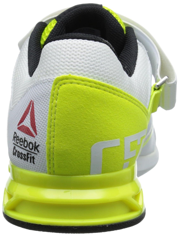 Reebok Dámská Crossfit Lifter Plus 2.0 Tréninková  obuv Semi bílá 2.0  solární žlutá  bílá  černá 2458b99 a51383f3fe
