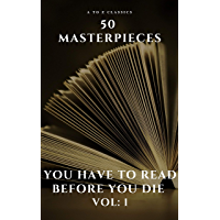 50 Masterpieces you have to read before you die vol: 1 book cover