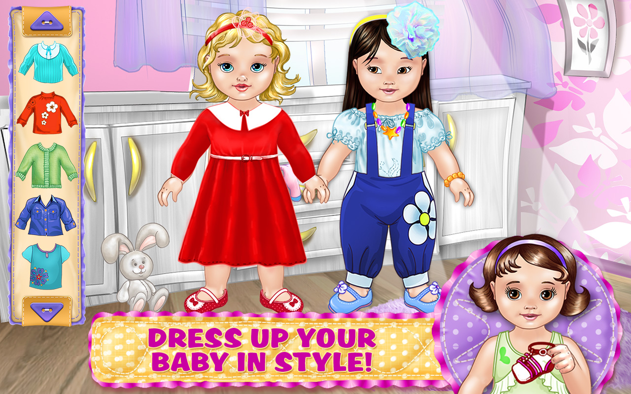 Baby Dress Up Game - Play online at Y8.com