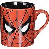 Silver Buffalo MC7032 Marvel Comics Spider-Man Eyes Ceramic Mug, 14-Ounces