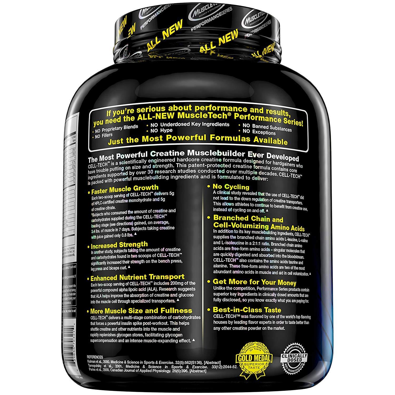 Muscletech Cell-Tech Performance Series Aroma Fruit Punch - Prodotto in  Polvere in Confezione da 2.7 kg  Amazon.it  Salute e cura della persona 4ad2b983c4b